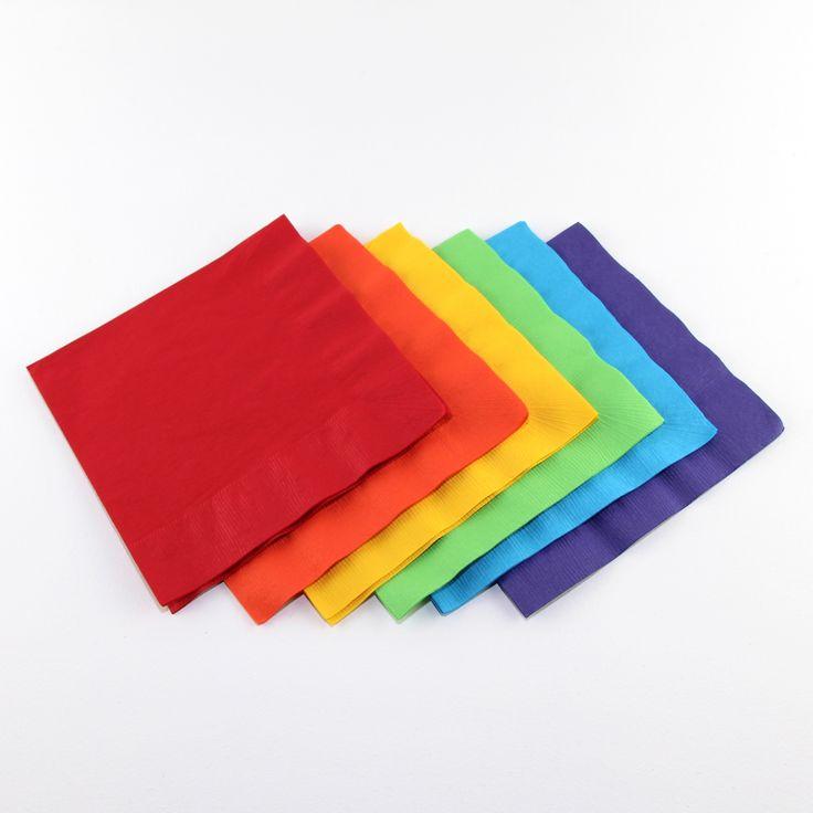 Solid Colour Napkins