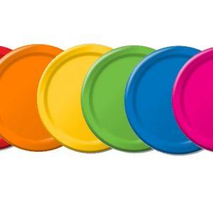 Solid Colour Plates