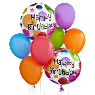 Happy Birthday Printed Balloons