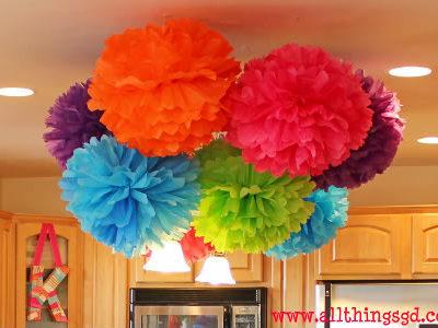 Happy Birthday Ceiling Decorations